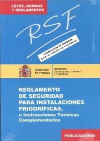 reglamento seguridad instalaciones frigorificas