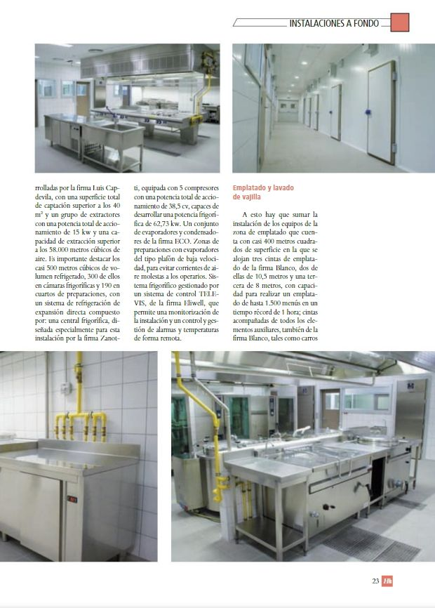 Reportaje Cocina Hospital HUCA en Hh Servicios Sociosanitarios Pagina 2