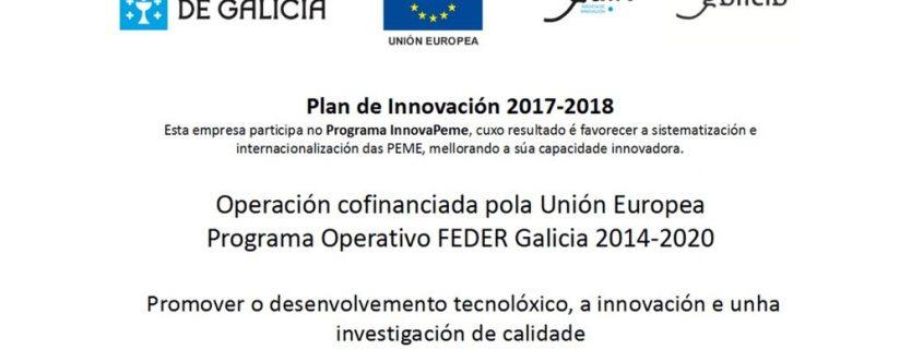 Plan Innova Pyme 2017 : Cofrico empresa innovadora