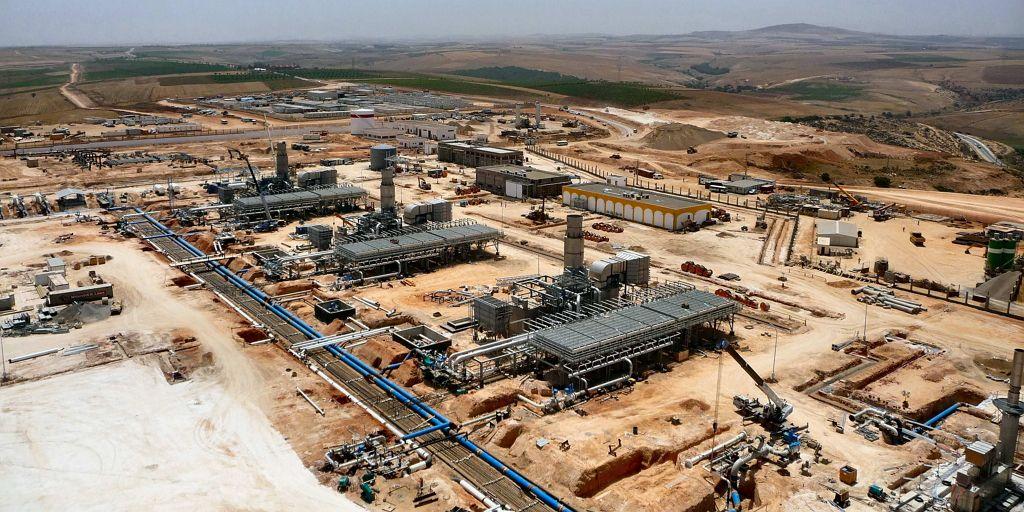 Climatizacion Industrial Estaciones de Control Medgaz|Obras