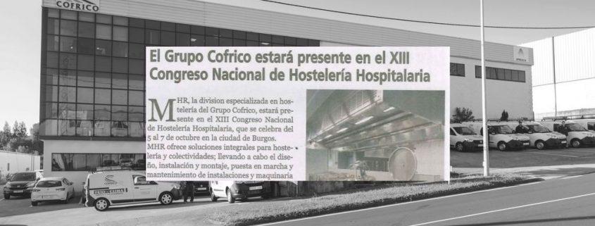 MHR en el XIII Congreso Nacional de Hosteleria Hospitalaria de 2011