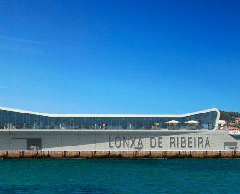 Cofrico impulsa la eficiencia energética en la nueva lonja de Ribeira