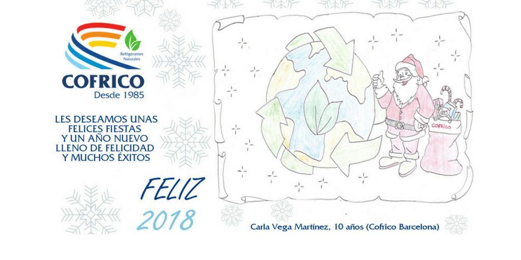 Dibujando Navidad Ecologica en Cofrico: Feliz Navidad 2017