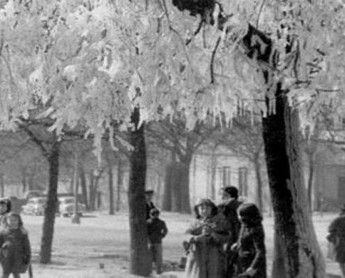 La legendaria ola de frío siberiano de 1956 en España Noticias