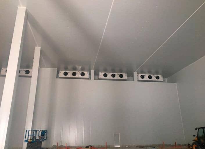 Instalación Frio Industrial y gestión eficiencia energetica Iberfruta