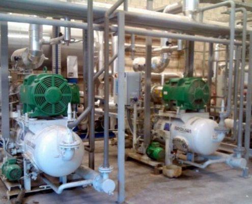 Refrigeracion con amoniaco. Refrigerante natural y ecologico