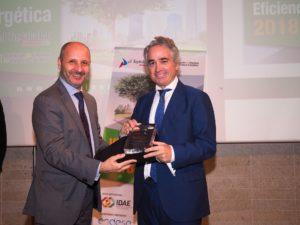 Rafael Perez Ruiz Iberfruta Cofrico entrega premio gran empresa premios a3e 2018