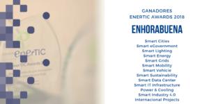 Ganadores Enertic Awards 2018
