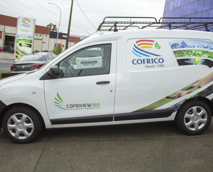 furgoneta cofrico glp gas lateral