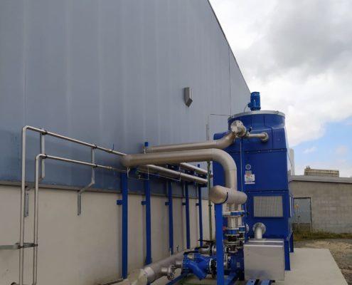 Climatización industrial Inoxidables de Rábade
