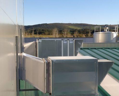 Climatización industrial Galicia láctea